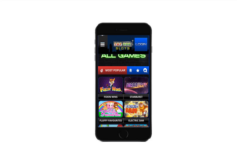 Top Dog Slots on Phablets