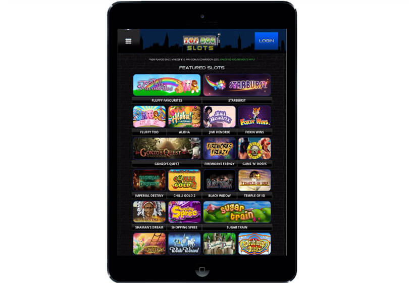 Top Dog Slots on Tablets