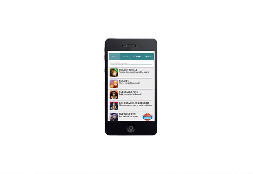 Moobile Games on Smartphone